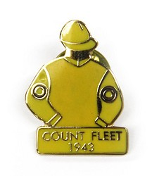 1943 Count Fleet Tac Pin