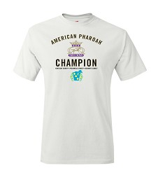 American Pharoah Triple Crown Champion Tee,AZ2TW