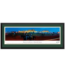 Churchill Downs Dawn at the Downs Panorama Deluxe Frame