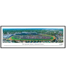 Churchill Downs Derby Day Panorama Standard Frame
