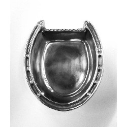 Horseshoe Bowl by Arthur Court,102622 ALUM