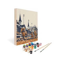 Paint by Number Art Kit--Best is History,05-1212 12X12