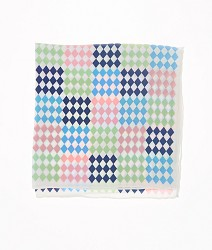 Vineyard Vines Patchwork Pocket Square,1T1154-998 MULT