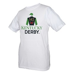 Kentucky Derby 142 Official Logo Tee,T05W