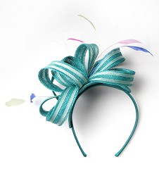 The Loopy Fascinator Jade Green