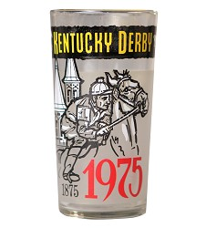 1975 Official Derby Glass,Derby Glasses-1970s