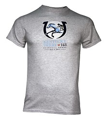 Kentucky Derby 143 Official Logo Tee,7KTSG GRAY