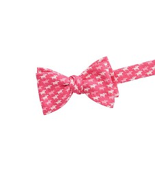 Vineyard Vines 2017 Repeating Horse Bowtie,1T3147-650 DKPINK
