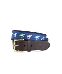 Vineyard Vines 2017 Horse Silks Belt,1A19654