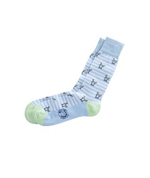 Vineyard Vines 2017 Striped Mint Julep Sock,1A1867 BLUE