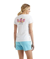 Vineyard Vines 2017 Lily Tee,2V0475 WHITE
