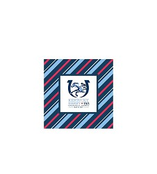 Kentucky Derby 143 Beverage Napkin,43480 BEV NAPKIN