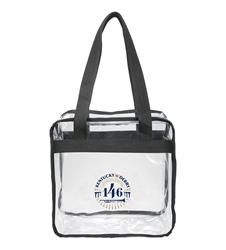 Kentucky Derby 143 Clear Tote Bag,7KTBC