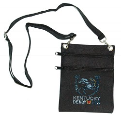 Kentucky Derby 143 Canvas Bling Pouch,Bling Apparel & Accessories,DCOZBC LOGO 1