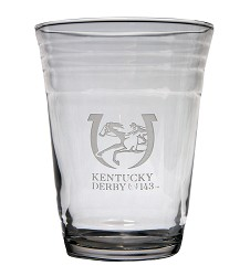 Kentucky Derby 143 Party Cup Glass 16 Ounces