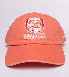 Kentucky Derby 143 Ladies' Peached Twill Cap Light Pink