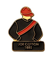 1885 Joe Cotton Tac Pin,1885
