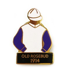 1914 Old Rosebud Tac Pin