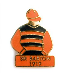 1919 Sir Barton Tac Pin