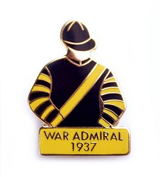 1937 War Admiral Tac Pin
