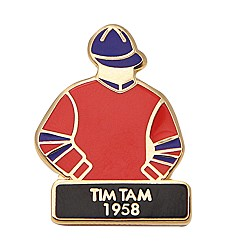 1958 Tim Tam Tac Pin,1958