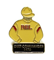 1970 Dust Commander Tac Pin