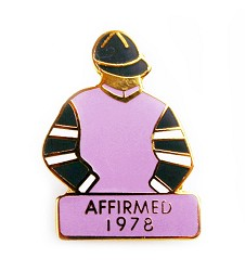 1978 Affirmed Tac Pin