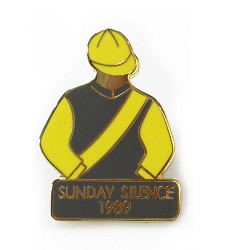 1989 Sunday Silence Tac Pin