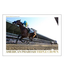 American Pharoah Courier-Journal Poster