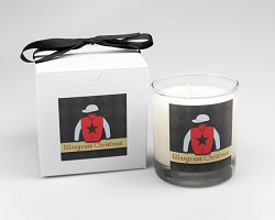 Bluegrass Christmas Candle