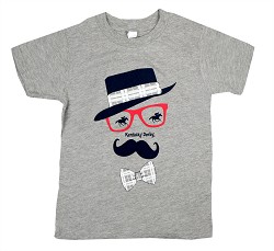 Boy's Kentucky Derby Mustache Tee