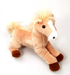 Butterscotch Flopsie Horse,31475