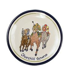 Churchill Downs Comin' At Ya Plate by Louisville Stoneware