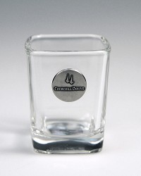 Churchill Downs Emblem Shot Glass