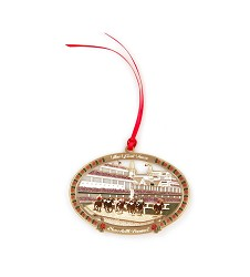 Churchill Downs First Turn Painted Ornament,S44092-PCS-2-1-