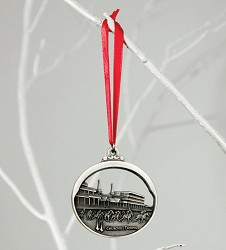 Churchill Downs Pewter Ornament