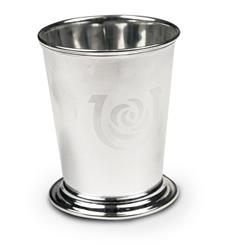 Kentucky Derby Etched Julep Cup,58-010 LT ETCH 8 OZ