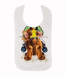 Jockey Boy Bib