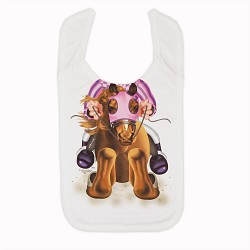 Jockey Girl Bib