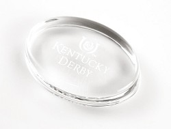 Kentucky Derby Icon Paperweight