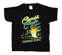 Kid's Churchill Charlie Tee Black Large