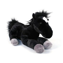 Midnight Flopsie Horse