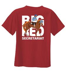 Secretariat Big Red Tee