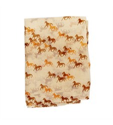 Super-Soft Horse Herd Scarf