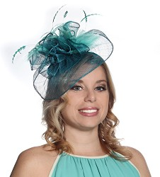 The Haute Feather Fascinator
