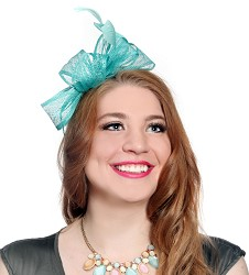 The Side Bow Fascinator,LDF7