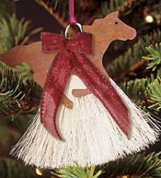 Thoroughbred Horsehair Ornament