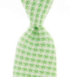 Vineyard Vines Gingham Horse Tie,Holiday Gifts 100 or less,1T0972-315 GRN