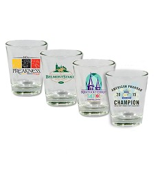2015 Triple Crown Limited Edition Shot Glass Set
