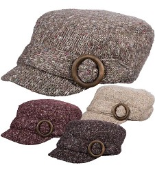 Ladies' Wool Cadet Cap,LW597ASST